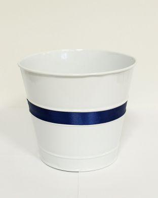 Koristeruukku sinivalkoinen