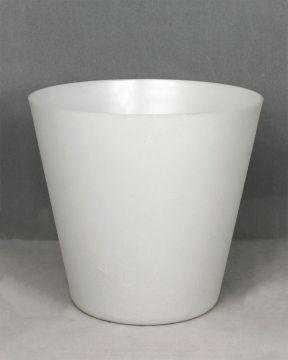 Muoviruukku valkoinen pieni