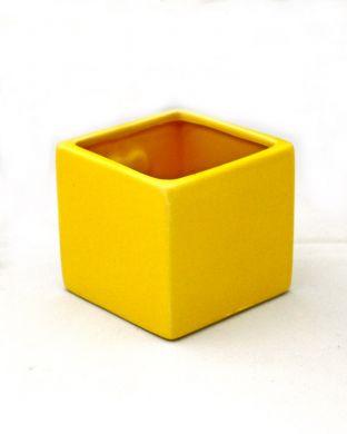 Magneettiruukku keltainen