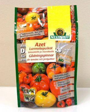 Azet-Lannoitepuikot tomaateille ja mansikoille