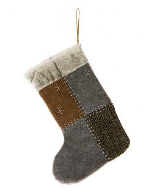Joulusukka harmaa 38 cm