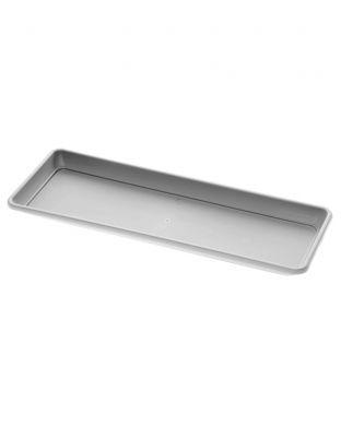 Parvekelaatikko Cilindro aluslautasella harmaa