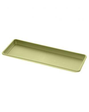 Parvekelaatikko Cilindro aluslautasella vihreä