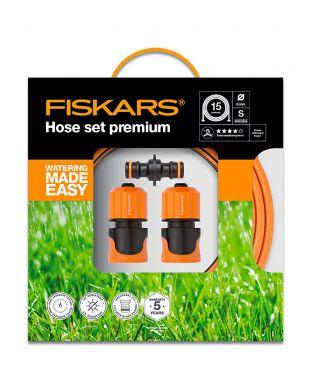 Kasteluletkusetti Fiskars Premium Q4 15 m
