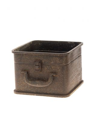 Metallinen suojaruukku laatikko pieni