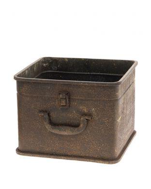 Metallinen suojaruukku laatikko iso