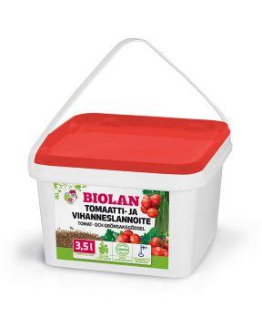 Biolan Tomaatti- ja vihanneslannoite