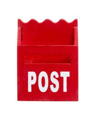 Minipostilaatikko punainen