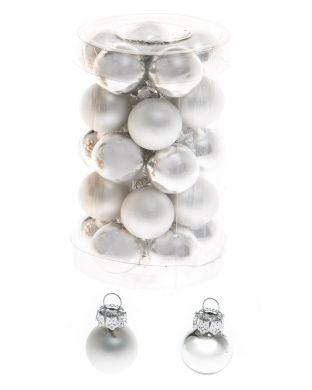 Minikuusenpallo hopea