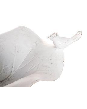 Lintukylpy antiikinvalkoinen