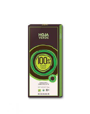 Hoja Verde 100 % tumma suklaa 50 g luomu