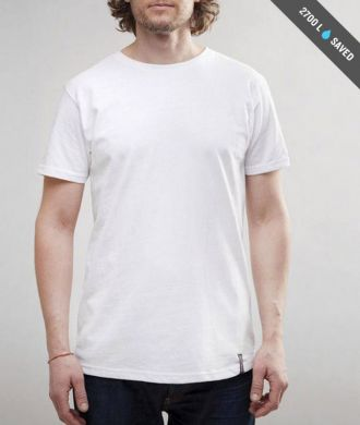 Miesten valkoinen t-paita koko S