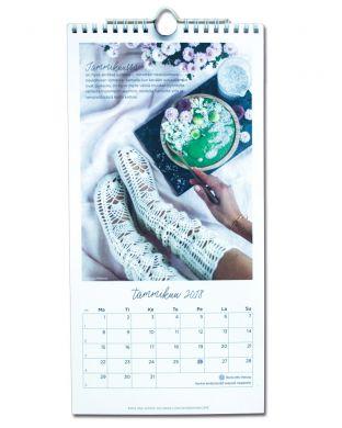 Novita seinäkalenteri 2018